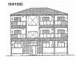 兵庫県伊丹市桜ケ丘3丁目の賃貸アパートの外観