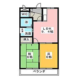 sabcoart[2階]の間取り