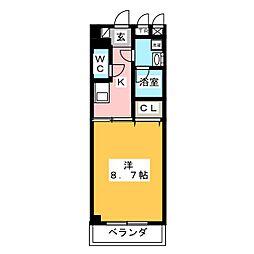ドエルMJ[4階]の間取り