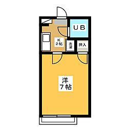 昭栄マンションB棟[1階]の間取り