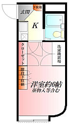 ラ・フォーレ熊谷[2階]の間取り