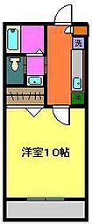 小川コーポ7[102号室]の間取り