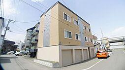 北海道札幌市西区発寒十一条4丁目の賃貸アパートの外観