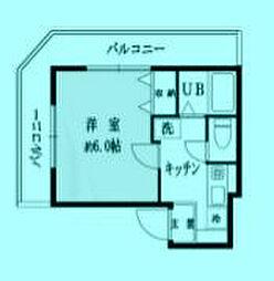 ソネット武蔵新城[3階]の間取り