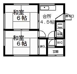 [一戸建] 滋賀県大津市真野5丁目 の賃貸【/】の間取り