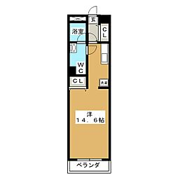 TO−MOREビル[8階]の間取り