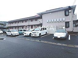 岡山県岡山市北区津島本町の賃貸マンションの外観