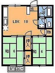 カイガラハイム[103号室]の間取り