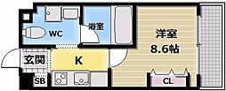 アンギンルマ[9階]の間取り