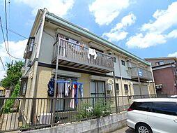 千葉県松戸市稔台2丁目の賃貸アパートの外観