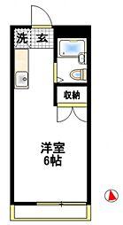 エイトハウス伊藤[1階]の間取り