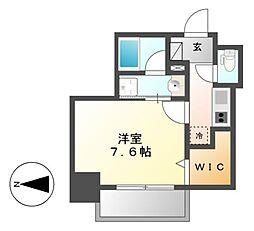 Comfort新栄[2階]の間取り