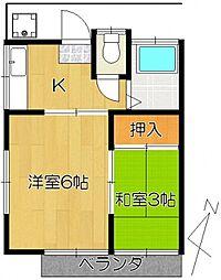 南柏駅 3.2万円
