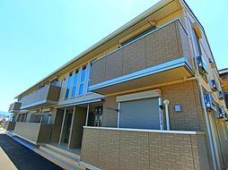 大阪府堺市南区高倉台2丁の賃貸アパートの外観