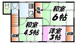 皆実町二丁目駅 2.3万円