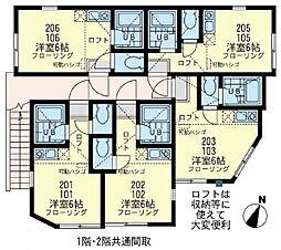 サザン鶴見小野駅前[1階]の間取り