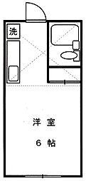 リバーサイドプラザ[2階]の間取り