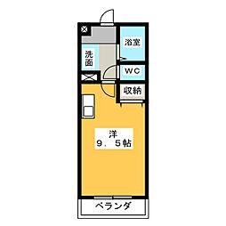 第3さくらマンション[5階]の間取り