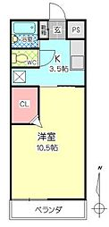 シティタウン久永No.2[1階]の間取り