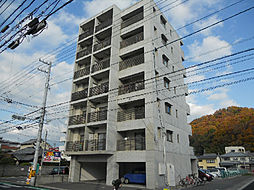 愛媛県松山市道後樋又の賃貸マンションの外観