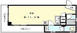 トランスポート入江[503号室]の間取り