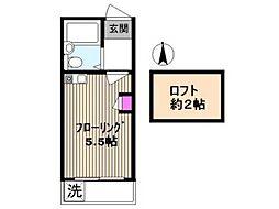 ライフピアパンドラ[2階]の間取り