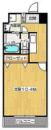 ユースロードヤマサキ[305号室]の間取り