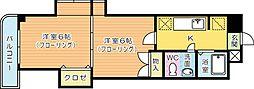 木下鉱産ビル[8階]の間取り