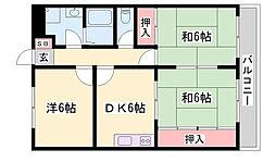 プラチナコート青山[2階]の間取り