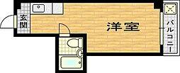 クイーンレジデンス[2階]の間取り