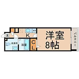 プレサンスmiu新栄(プレサンスミュー新栄)[5階]の間取り
