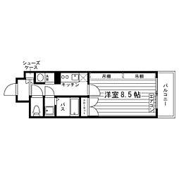 サンメイツ京阪・七条大宮[1階]の間取り