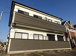 三重県津市河芸町上野の賃貸アパートの外観