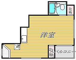 東京都江東区南砂2丁目の賃貸マンションの間取り
