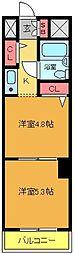 ライオンズマンション田端第2[212号室]の間取り