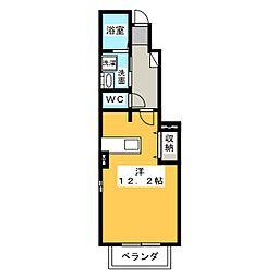 クリスタルバレー[1階]の間取り