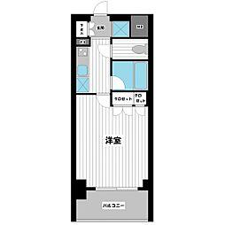 スペーシア川崎III[402号室]の間取り