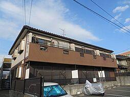 千葉県習志野市実籾4丁目の賃貸アパートの外観