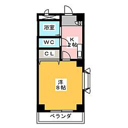 第二福谷ビル[3階]の間取り