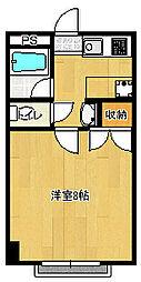 東千葉ハイリビング六番館[308号室]の間取り