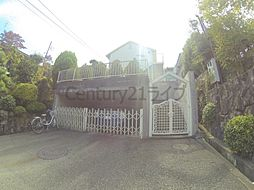 兵庫県宝塚市長尾台1丁目の賃貸アパートの外観