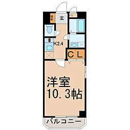 愛知県名古屋市東区白壁2の賃貸マンションの間取り