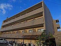 大阪府箕面市粟生新家1丁目の賃貸マンションの外観