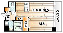 フェルト716[6階]の間取り