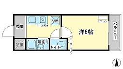 アートハイツ田寺[2階]の間取り