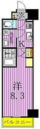 マキシヴ西新井[2階]の間取り