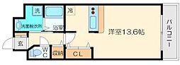 参鐘館[7階]の間取り