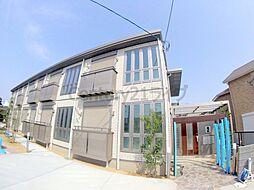 兵庫県宝塚市山本東3丁目の賃貸アパートの外観