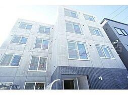 北海道札幌市白石区栄通12丁目の賃貸マンションの外観