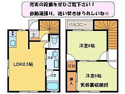 [テラスハウス] 三重県松阪市大口町 の賃貸【/】の間取り